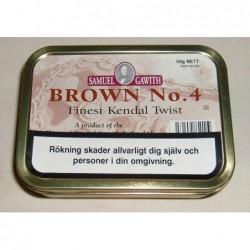 Brown No. 4 - Twist